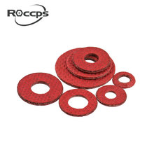 red vulcanized fiber paper washer/gasket