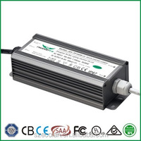 50w low carbon outdoor waterproof UL led driver power supply for lamps and lanters