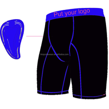 OEM Custom Lycra MMA Shorts,Compression Boxer Shorts with Cup,Muay Thai Comppression Shorts Boxer
