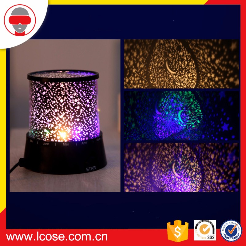 Lcose Universe Outer Space Night Light Starry Sky Star Projector Lamp