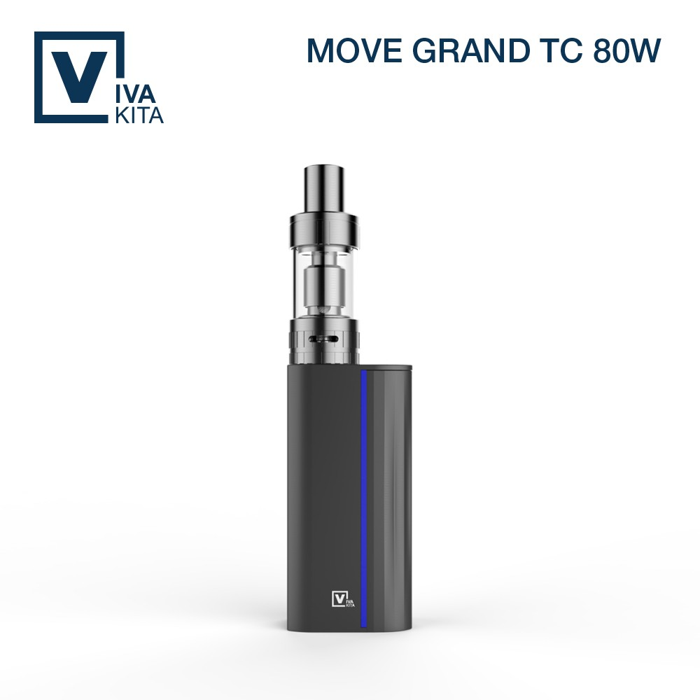 VIVAKITA latest 80W temperature control ni200 e cig with puff counter