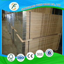 Online shopping Best price of LVL scaffolding plank with steel end used for construction