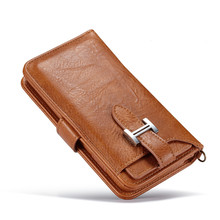 Flip back case for iphone 6 detachable wallet leather iPhone