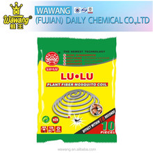 Unbreakable paper smokeless natural plant fiber mosquito coil