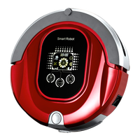 2015 top vacuum cleaner robot with virtual wall +mop+autorecharger