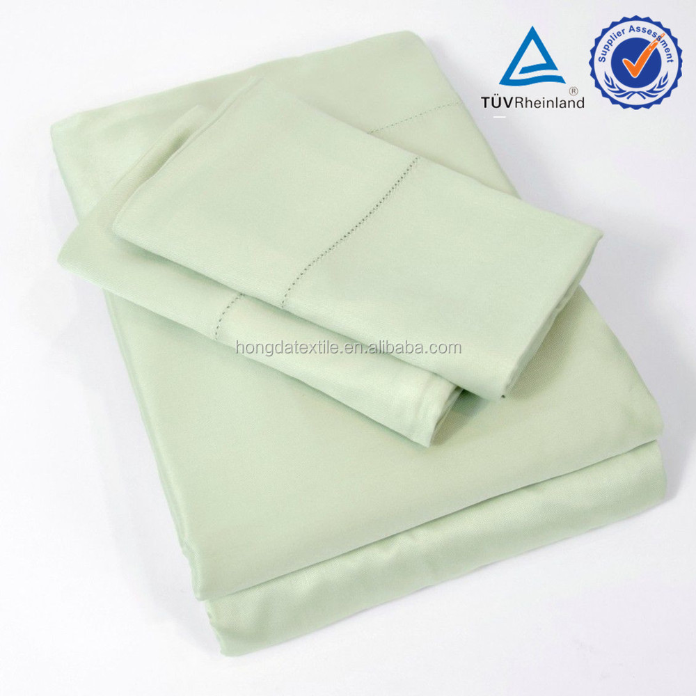 2014 popular 300TC 100% bamboo fancy bed sheets