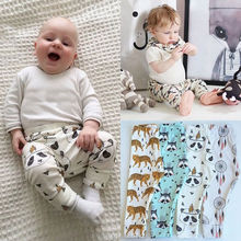 100% Cotton baby pants 2017 fashion pants wholesale baby pants