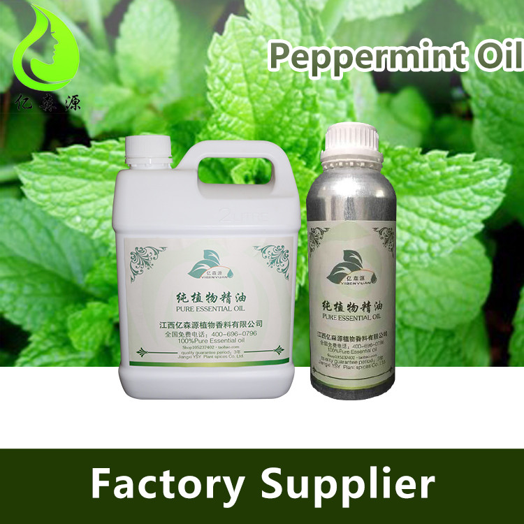 Factory Free Samples Bulk Peppermint Oil With 50% Menthol Min