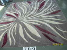 New Zealand Wool Fireproof Hand Tufted Modern Design Hotel Carpet