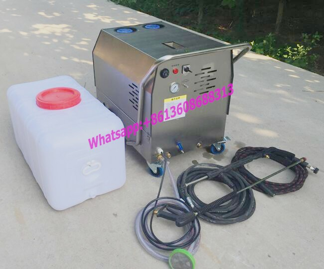 Diesel type steam cleaning mnachine for cars