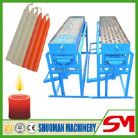 High efficiency and reasonable price semi automatic small candle making machine for sale