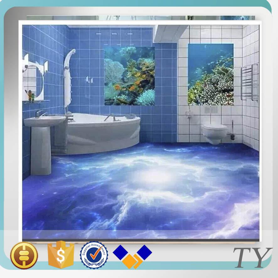 New Arrival 3d Flooring And Wallpaper Bathroom Discontinued Porcelain Floor Tile Buy 3d