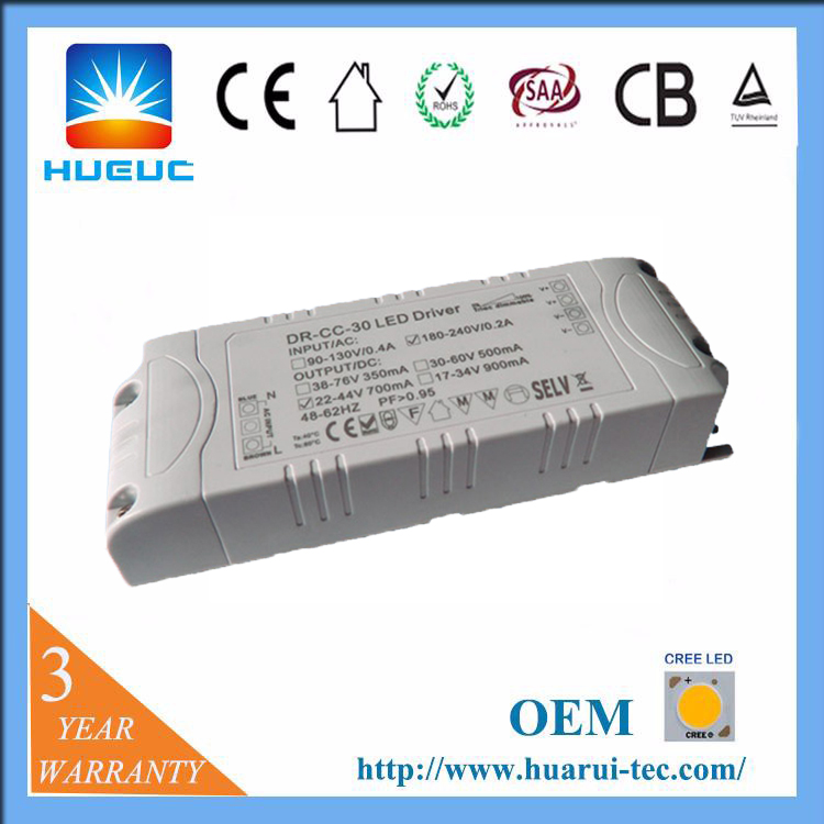 ETL 24v dc input remote control street light wireless dimmable power constant current led driver