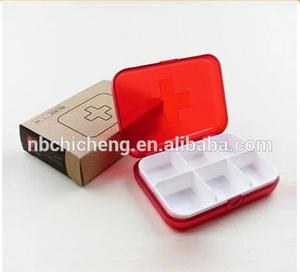 plastic travel pill box 7 days organizer 7 day children