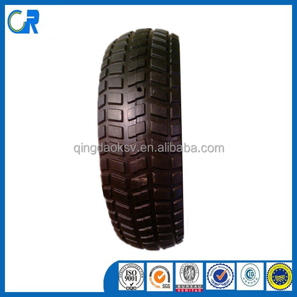 Qingdao supplier wholesales 10x3.3 semi-pneumatic wheel