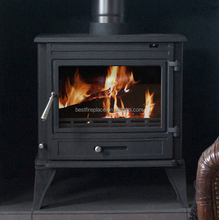 CE EN13240 Wood Burning Stove With Back Boiler
