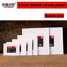 US Art Supply 8 X 12 inch Professional Artist Quality Acid Free Canvas Panels Linen Blend Canvas Suitable for OilColor Acrylic