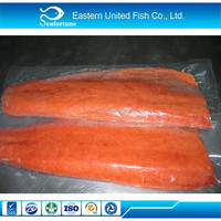 China Seafood Wholesale Iqf Frozen Chum Salmon Portions