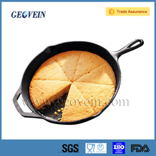 Hot Sale Cast Iron Non-stick Frying Pan with single handle