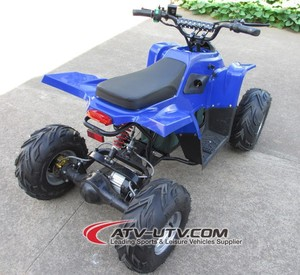 800w 48 volt electric atv with differential mechanism