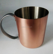 customized stainless steel moscow mule copper mugs