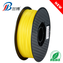 New product Yellow PLA ABS 1.75 1KG/ROLL 3d print filament for 3d printer