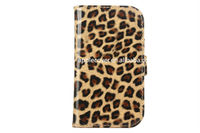case for samsung galaxy express i8730 leopard wallet