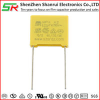 .22uF 275VAC MKT polyester X2 Safety capacitors