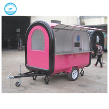orange kiosk/ice cream motor bike/street food kiosk cart for sale