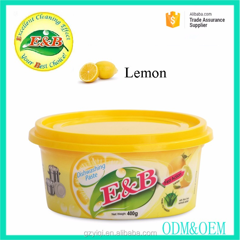 OEM Printed Labol dishwashing paste detergent
