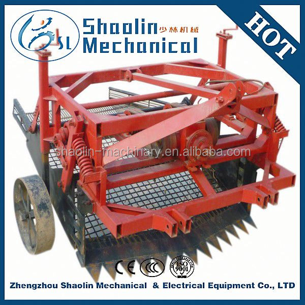good performance high efficiency mini potato peanut harvester