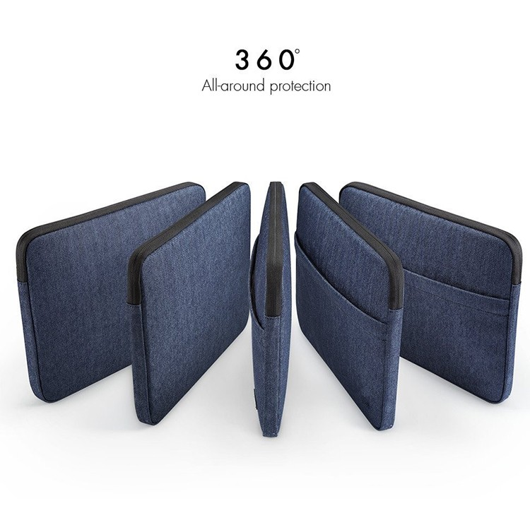 13.3-15 Inch Laptop Sleeve Case Bag Laptop Cover for MacBook Air / MacBook Pro with Denim Fabric