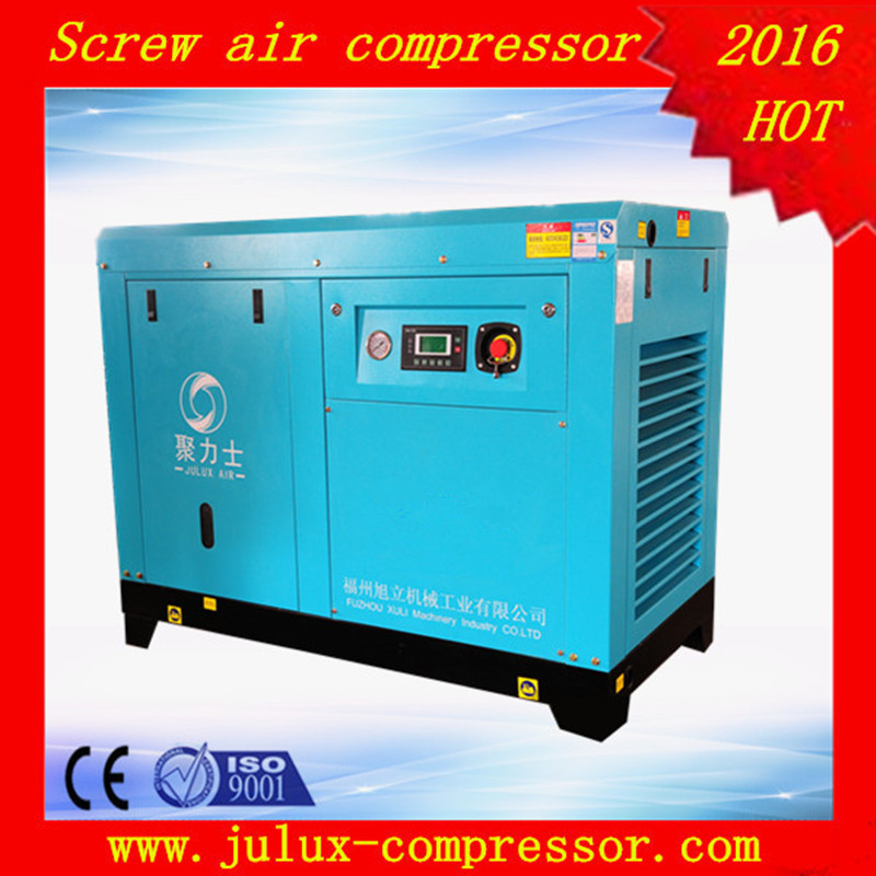75kw 100hp 7-12.5bar electric motor direct driven cheap rotary screw air compressor