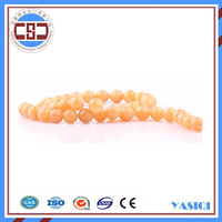 Alibaba Hot Beads for jewelry bracelet necklace natural yellow stone bead