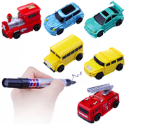 2017 Kids Follow Any Drawn Line Magic Pen children toy factory price wholesale Inductive Car toy