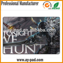 2016 High quality Mats & Pads big gaming mouspad 1 inch thick rubber mat popular rubber ass