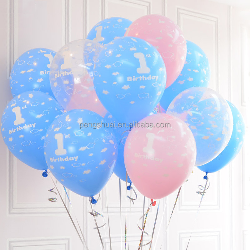 Wholesale 12'' round shape alphabet balloon number balloon ballon helium for wedding party decoration