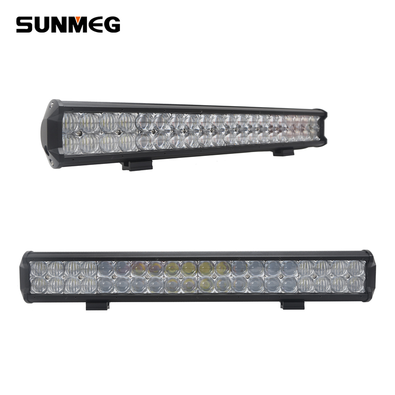 120W 22Inch LED Light Bar, Waterproof LED Driving Light for Offroad, 4x4 Car Accessories Double Row Light bar