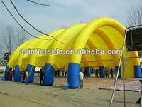 Yellow china inflatable tent manufacturers