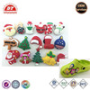 16pcs Christmas Pvc Shoe Charms For