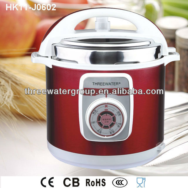 5L 900W Electric Multi Cooker Stainless Steel Pressure Cooker