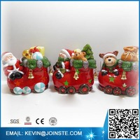 Ceramic animatronic christmas decoration