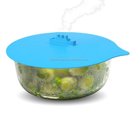 Silicone bowl suction lid/silicone pot cover lid