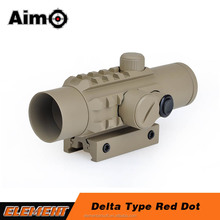 Aim-O AO3017 Delta Type Red Dot airsoft sight scope tactical riflescope