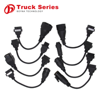 CDP Truck Cables Diagnostic Interface Tool 8 Cables Truck Cables Full Set