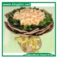 Brown Ribbed kraft paper 40gsm MG 700x1000mm for flower