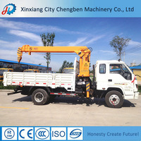 Hydraulic Knuckle Crane and Trailer Mounted