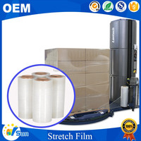 High Quality 25 Micron Stretch Film For Pallet Shrink Wrap Film