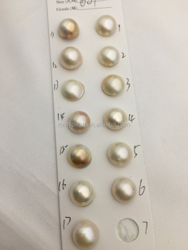 13-14mm Mabe Pearl,Select One,Button Round Shape,salt sea pearl,mabe pearl,made in japan,Salt Sea Pearl