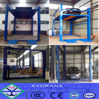 Professional manufacturer 4 post hydraulic car lift for car wash